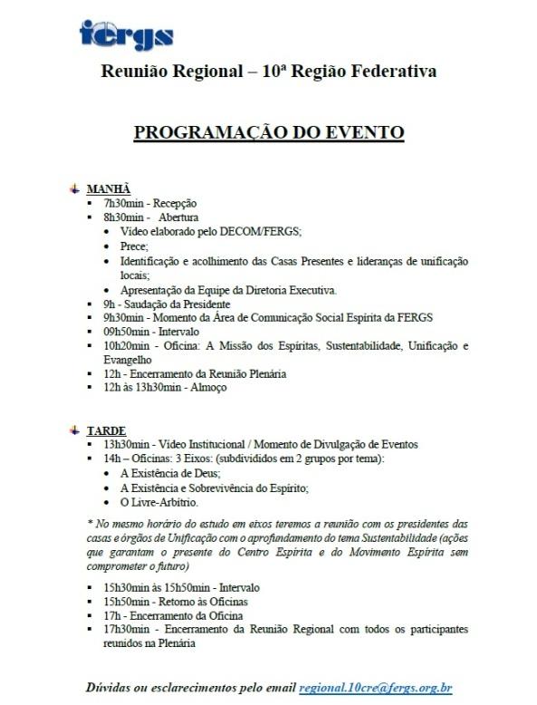 programacao-regionalcre10-2014